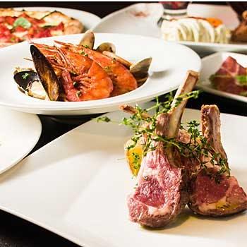 【人気プラン最安値】グラススパークリングワイン付!お魚・お肉料理など全6品贅沢フルコース!