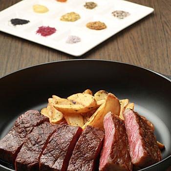 【一休限定】選べる1ドリンク付!前菜盛り合わせ、国産黒毛和牛&神戸高見牛ステーキディナー全3品コース!