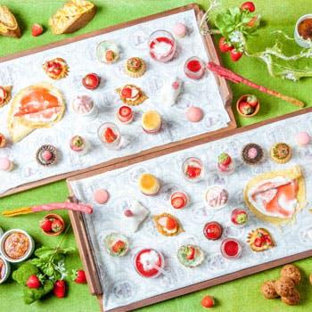 【平日限定×ナイトデザートブッフェ】約20種のかわいいスイーツ&約10種の料理を堪能!