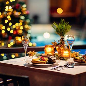 【Xmas2017】フリードリンク付!WITH THE STYLEの非日常の雰囲気と美味しいお料理で最高の思い出を…全6品