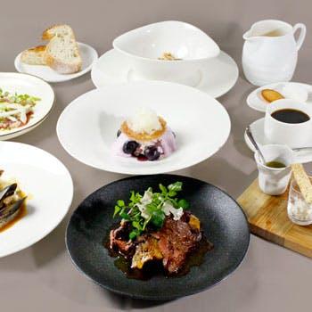 【季節のディナー】18時まで来店限定スパークリング付!旬の食材をふんだんに使用した全6品