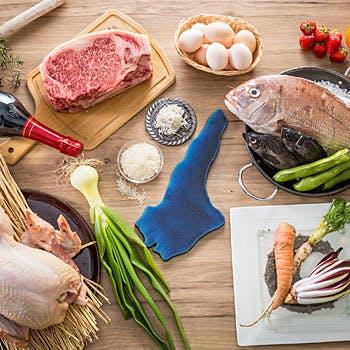 【1日3組限定】乾杯ベラヴィスタ付!淡路の食材や姫路坊勢の魚介など、厳選食材を使ったフルコース全9品