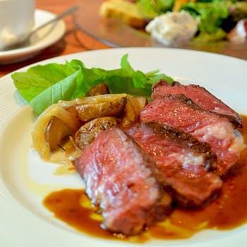 【乾杯スパークリング付】前菜盛り合わせ・アンガス牛のステーキ・ドルチェを堪能!食後のカフェ