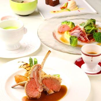 【Lunchフルコース】産地にこだわった京野菜を使用したフルコース全7品!
