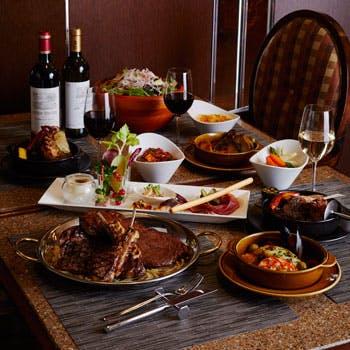 【スタイルディナー】通常8553円→5800円乾杯酒付ステーキなど選べるメイン!大満足前菜7種盛りとサラダ付