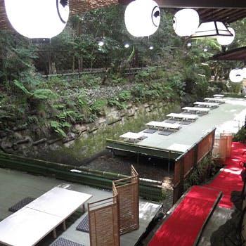 名物納涼床【昼会席】〜季節の貴船を満喫しながら楽しむ錦秋の里〜貴船で京を感じる