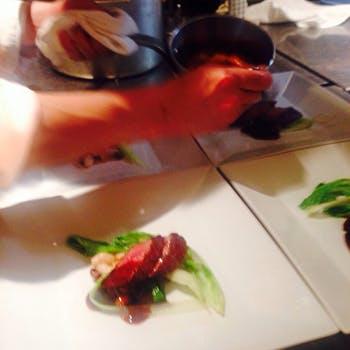 【アップグレード】平日×1ドリンク付!季節の食材を使用した前菜&パスタ&お肉&デザート全5品コース