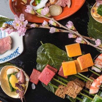 【一休限定】個室確約へご案内!料理長おまかせ!お昼の旬の会席料理を大切な方と素敵なひとときをご堪能