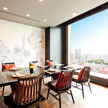 【ランチ個室確約】選べるメイン料理 地上30階で贅沢にランチコース全4品2,500円
