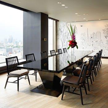 【期間限定!10名以上個室無料】シャンパンフリーフロー3時間&お料理8品 30階夜景確約個室パーティー