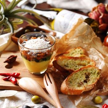 【3月20日〜4月8日】桜の季節限定シャンドンロゼ付!パティシエ特製デザートと季節のコース6品