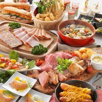 【7/20〜9/2】土日祝!パスタや牛モモローストのスタンドクッキングが魅力!人気ディナーブッフェ