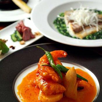 【一休限定】1ドリンク付!赤坂の路地裏の隠れ家レストランで楽しむ本格中国料理 全8品!特別料金5,000円
