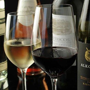 【ドリンクのみプラン】スパークリングワイン含むドリンクフリーフロー2時間1,980円