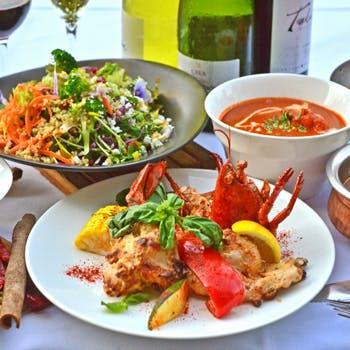 お席のみの予約プラン  伝統のレシピが織りなすカレーや北インド料理、南インド料理をお愉しみください