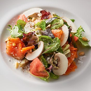 【平日限定】サラダ&パスタ&メイン&デザートのコース ORIENTAL HOTELの最上階で過ごすランチタイム