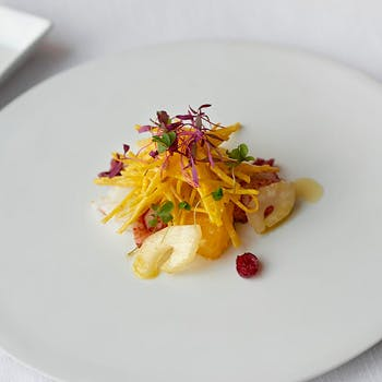 【SEASONAL】アミューズ+冷前菜+温前菜+パスタ+メインディッシュ+〆の一皿+デザートの全7品コース