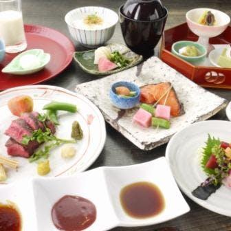 【丸ビルプレミアムレストラン】選べる1ドリンク付!お造り・焼八寸・強肴など厳選食材 全9品