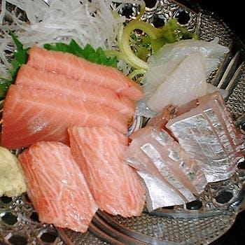 【料理のみ】当店自慢ふっくらアジフライ、鰆の西京味噌漬け、お刺身、前菜など全8品 魚介料理を心ゆくまで