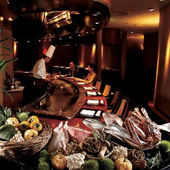 【Xmas2017】甘鯛のグリルや佐賀牛に舌鼓を打つ  全9品鉄板焼きクリスマスディナー20,196円 柊