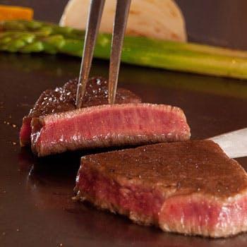 【一休限定特別価格】選べる乾杯ドリンク付 黒毛和牛のステーキ…