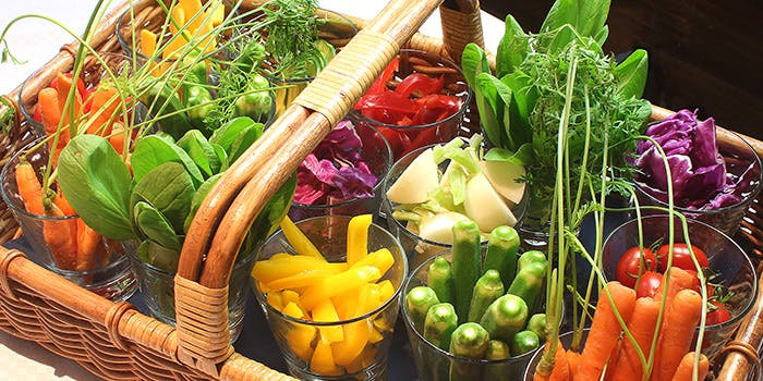 ビストロ ファボリ 代官山の野菜