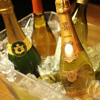 【人気プラン最安値】ワイン飲み放題付!代官山の開放的な空間でビストロフレンチ全5品(テラスも可)