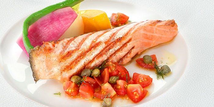 プリフィックスランチの魚メニュー