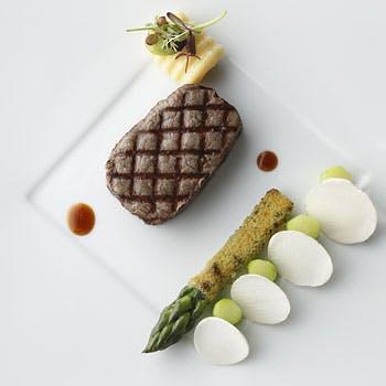 【ランチ】魚・肉料理を含む全5品!食後のカフェ&小菓子付!大切な人と優雅な時間を〜Marche〜