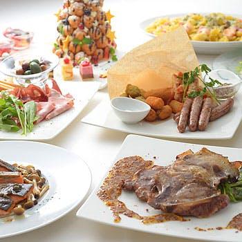 【一休特別 平日2.5時間パーティープラン】4名様〜季節の食材を使用したパーティープラン全7品!