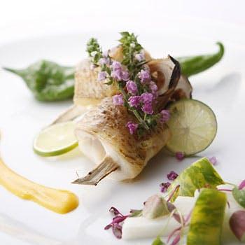 【一休限定】フリードリンク付!隠れ家レストランで魚&お肉のWメインなど全7品!旬の食材をふんだんに使用