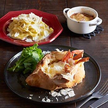 【テラス席×2.5時間飲み放題付!】5種のチーズを使ったパスタやズワイ蟹など冬のチーズプランB!