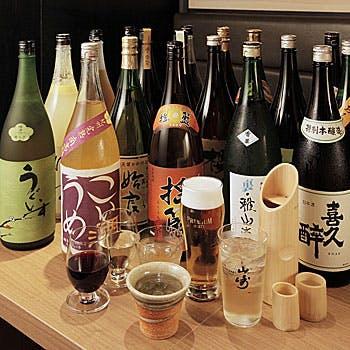 【3時間飲み放題×個室】こだわりのお酒と楽しむ会席!武州鴨のローストと特選食材を贅沢堪能 全9品