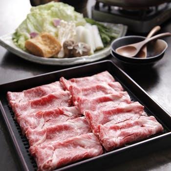 【土日祝限定】飲み放題付!十勝和牛すき焼きorしゃぶしゃぶ、天然鮮魚のお造りなども愉しめる全8品!