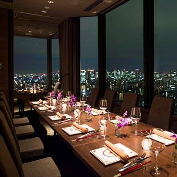 THE DINING シノワ 唐紅花&鉄板フレンチ 蒔絵/浅草ビューホテル27Fの写真