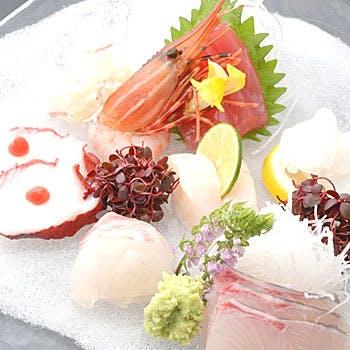 【四季会席:花】 四季折々の旬な食材が楽しめる全8品  6,500円 【ワンドリンク付】