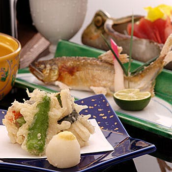 【四季会席:雪】 四季折々の旬な食材が楽しめる全7品  3,500円 【1ドリンク付】