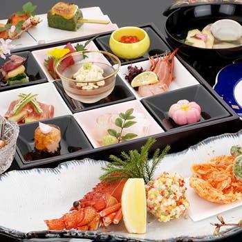【個室限定/90分飲放付】高級食材や旬の味が味わえる、煮物・焼物など料理長お勧め料理 お1人様10000円
