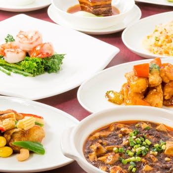 北京ダックも!前菜からデザートまで楽しめる本場の料理人が手掛ける全9品ランチ!さらに選べる乾杯酒付!