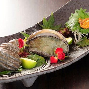 """【""""林香""""】但馬牛A4ランクサーロインや極上の黒鮑、車海老天ぷら盛り、明石昼網の鮮魚を食す 全11品!"""