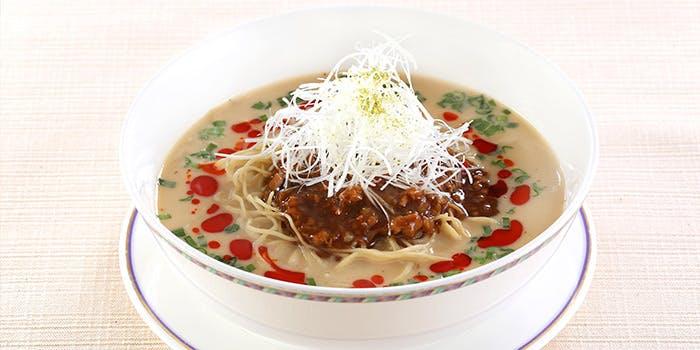 彩龍の担々麺