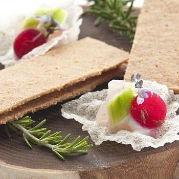 【フルコースディナー】前菜+魚料理+肉料理+デザートはプリフィクス!トリュフ等全6品!