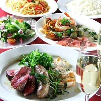 【12月26〜29日】年末限定2000円OFF!3時間飲み放題+魚・肉料理も愉しめるWメインのgrigio特撰コース