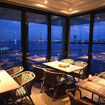海鮮ビストロ「ピア21」/ヨコハマ グランド インターコンチネンタル ホテル(ぷかりさん橋2F)の写真