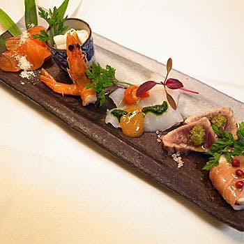 浄土寺のお茶室で本格フランス料理を楽しむランチコース お一人様3,024円プラス ワンドリンク