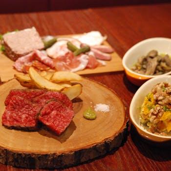 【一休限定】尾崎牛を炙りやステーキ、カレーで堪能!尾崎牛極上サーロインコース豪華全8品!