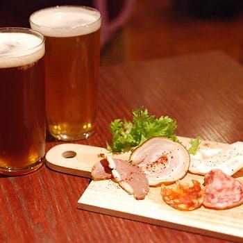 【一休×土曜日限定】通常4,146円→1,800円!6種類の中から選べるクラフトビール3種&肉前菜盛合せセット