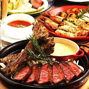 【12月23日〜】1日3組限定 【超希少】熟成和牛ステーキ 1596のSpecialクリスマスコース