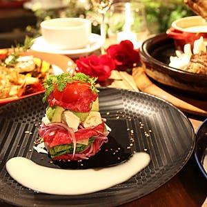 【12月23日〜】1日3組限定 ロマンチックに一頭買い近江牛を1596のSpecialクリスマスコース