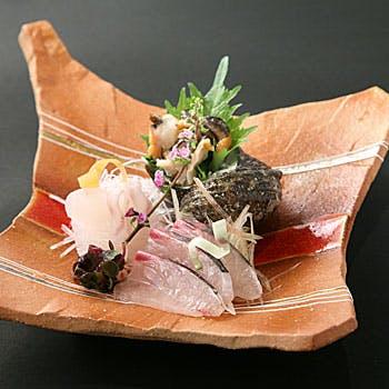 【個室確約】乾杯ドリンク&デザートプレート付!海山の幸を贅沢にご堪能!懐石料理(吾人) 全12品